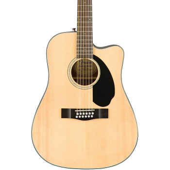 Fender CD-60SCE-12 Natural. Guitarra Acústica 12 Cuerdas Electrificada