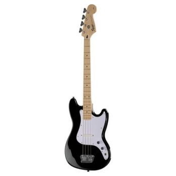 Fender Squier Bronco Bass Maple Fingerboard Black