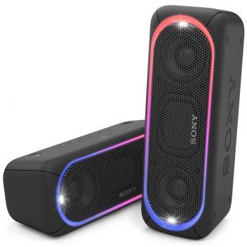 SONY SRS-XB30B Altavoz Bluetooth NFC con efectos iluminación SRSXB30