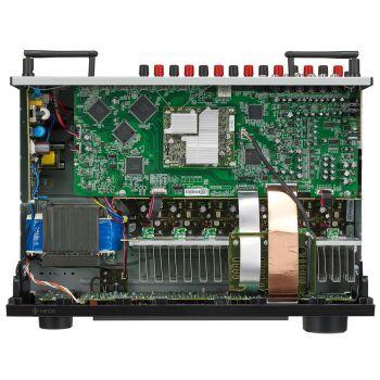 DENON Equipo AV AVR-X1500H + Bose AM-6V Negros Altavoces Home Cinema