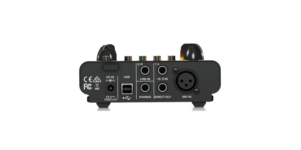 behringer mic500usb previo micro interfaz