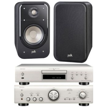 Denon PMA-800AE Silver+DCD800+Polk Audio S20E. Sistema 800/S20 Conjunto Sonido