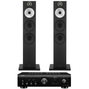 Denon PMA-800AE Black+BW 603 Black Conjunto Audio