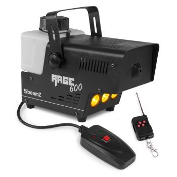 Beamz Rage 600led Maquina De Humo Con Mando A Distancia 160704