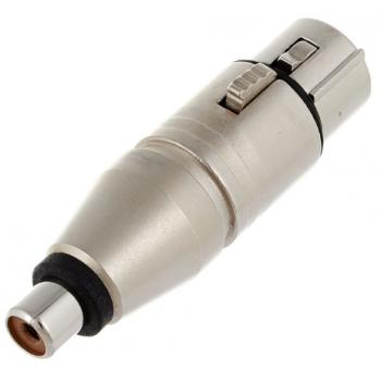 Neutrik NA2 FPMF Adaptador XLR Hembra a RCA Hembra