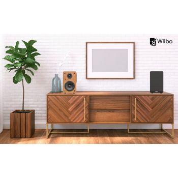 Wiibo Neo 100 Altavoces Estanteria Bluetooth HiFi Activos 100w Pareja
