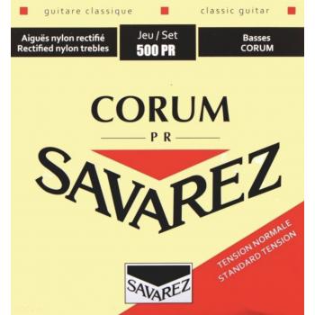 Savarez 500PR Corum Set Cuerdas Guitarra Clasica Flamenca Tensión Media