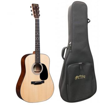Martin D-12E Guitarra Electroacústica con Funda