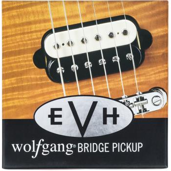 EVH Wolfgang Bridge Black-White Pastilla para Puente