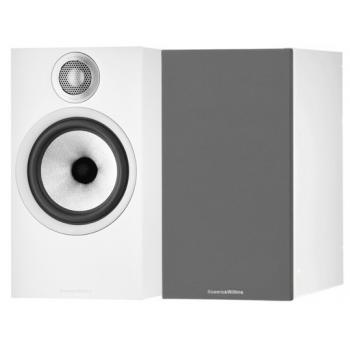 BW 606 S2 White Aniversary Edition Altavoces HiFi. Pareja. Blanco