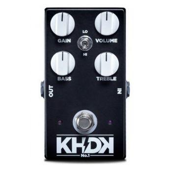 KHDK No 1 Pedal Overdrive Para Guitarra