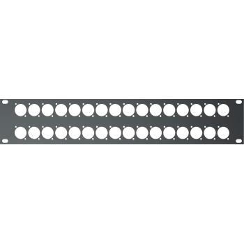 Quik Lok RS-295 Panel Rack 2U