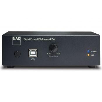 NAD PP4 Previo Phono MM-MC Salida USB