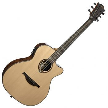 LAG T500ACE Guitarra Electro-Acústica Auditorium Solid Spruce