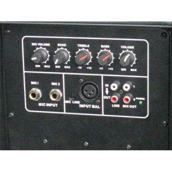 IBIZA SOUND XTK15A, Altavoz Activo 15 Pulgadas, 600 W