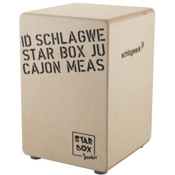 Schlagwerk CP 400 SB Cajón Star Box Abedul