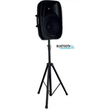 IBIZA SOUND BT15A Pack , Altavoz Activo 15 500W + Soporte + Micro