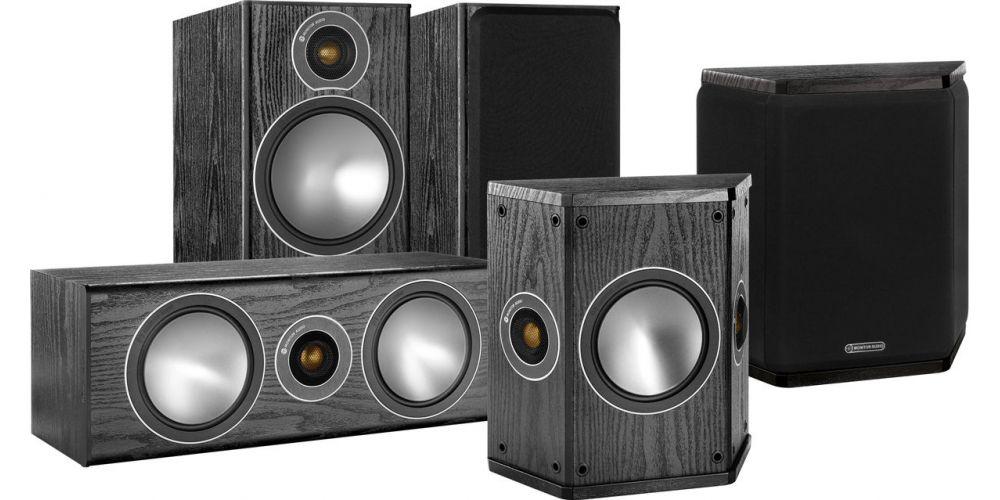 Monitor Audio Bronze 2 5 0 Noir