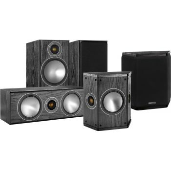 MONITOR AUDIO Kit  BRONZE 2. 5.0 BK, Kit BRONZE2 + BRONZECENTER + BRONZE FX
