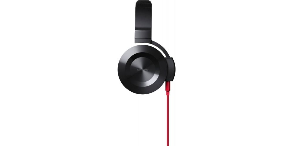 onkyo es fc300 r auricular negro cable rojo auriculares dj