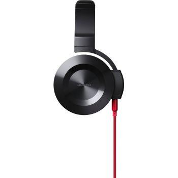 ONKYO ESFC300-R Auricular Negro, Cable Rojo