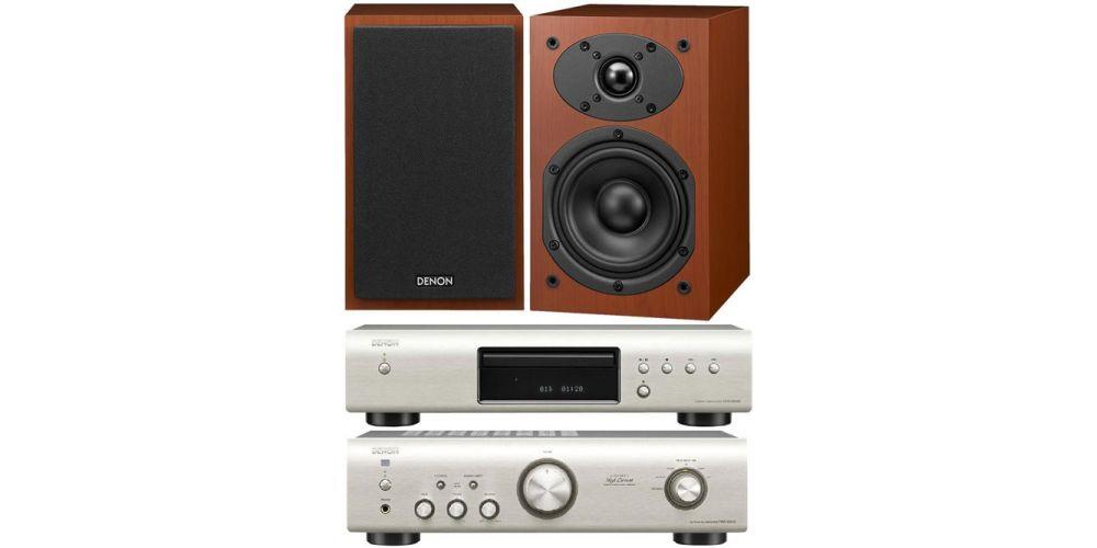 DENON PMA-520S+DCD520S+SCM40CHERRY