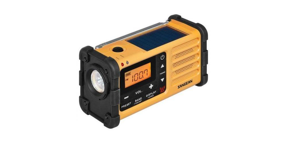 sangean mmr88 radio ecologica recarga manual linterna