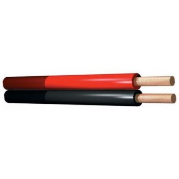 PD Connex Cable paralelo 2 conductores, 2 x 0.75mm, 6.0A, Rojo, 100m 802459