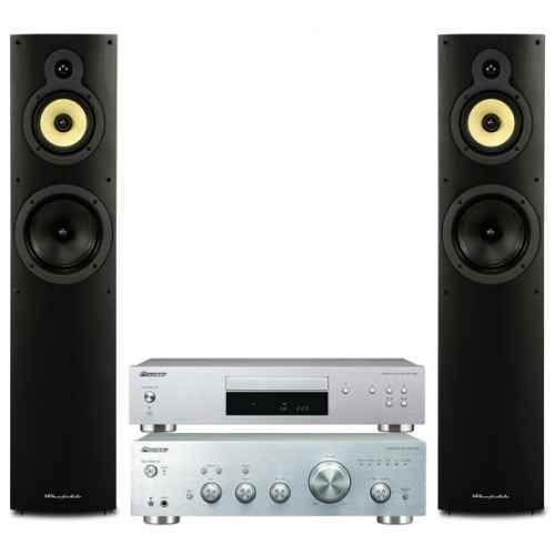 pioneer a30 silver amplificador comprar wharfedale crystal 4 3