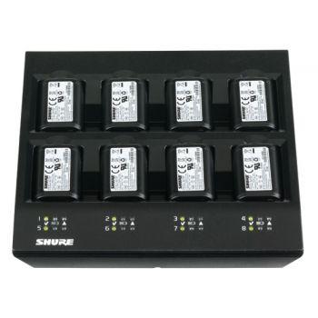 SHURE SBC800-E Cargador de sobremesa de hasta 8 Baterías recargables SB900
