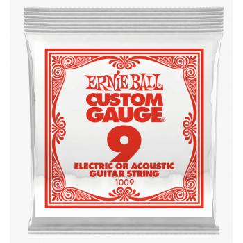 Ernie Ball 1009 Slinky Plana Cuerda Para Guitarra Electrica 009