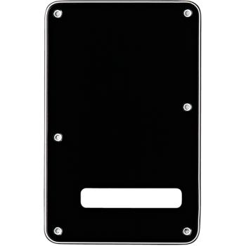 Fender Stratocaster Placa Trasera Negra