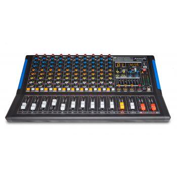 Audibax MG12 FX Mesa Mezclas 12 canales con Efectos, Bluetooth, MP3 , USB Rec, DSP