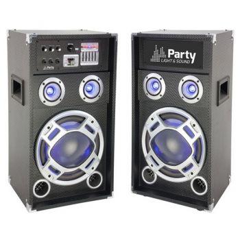 PARTY KARAOKE 8 Sistema de Karaoke Activo con Altavoces de 2 vias y 8