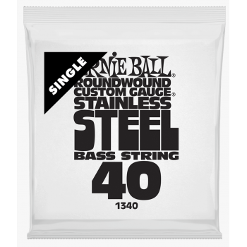 Ernie Ball 1340 Slinky S.Steel Entorchada Cuerda Para Bajo 040