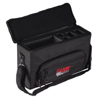Gator GM-2W Bolsa para 2 Sistemas Microfono Inalambrico