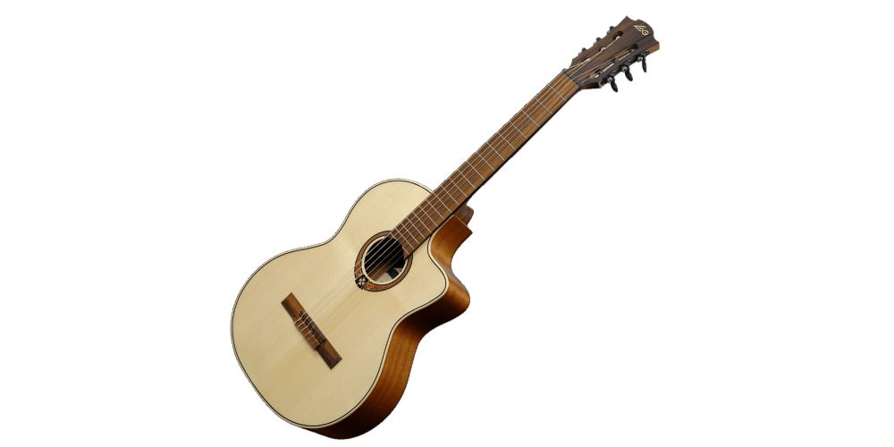 lag oc88ce guitarra clásica electrificada