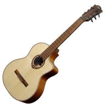 LAG OC88CE Guitarra Clásica Electrificada con Cutaway Serie Occitania