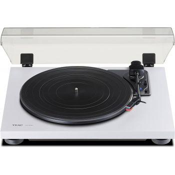 TEAC TN-180BT-WH Giradiscos HiFi Bluetooth Blanco. Previo Phono incluido. TN180BT-W