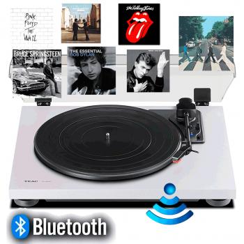 TEAC TN-180BT W Giradiscos HiFi Bluetooth Blanco. Previo Phono incluido. TN180BT-W