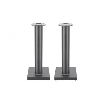 B&W Formation Duo Stand Silver, soportes para altavoces Duo Blancos Pareja