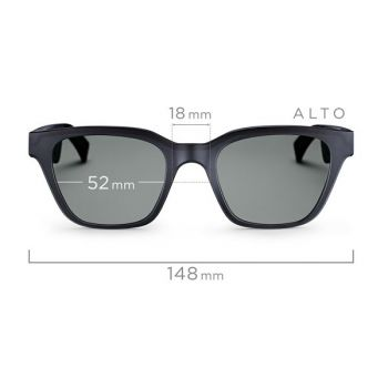Bose Alto Frames S/M Gafas de Sol con Audio HiFi Alta Fidelidad