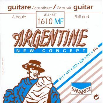 Savarez Argentine 1610MF Juego de Cuerdas para Guitarra Acústica
