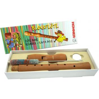 Hohner Flauta 9501 Madera Peral Digitación Alemana 2 piezas