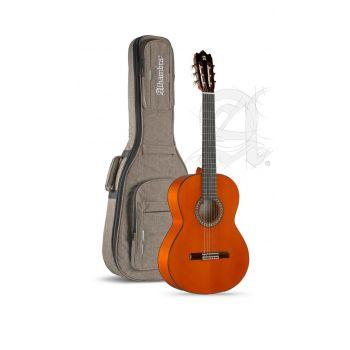 Alhambra 4F con Golpeador Guitarra Flamenco + Funda