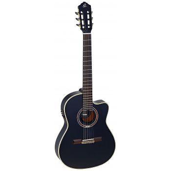 Ortega RCE138-T4BK Guitarra Electroacústica Black