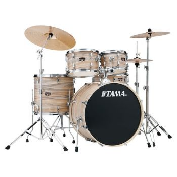 Tama Batería Imperial Star Natural Zebrawood Wrap 22
