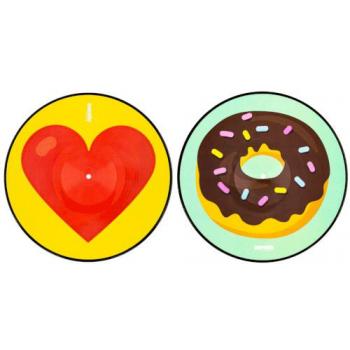 Serato SCV-PS-EMJ-3 Pressings Emoji Series 3 donut/heart