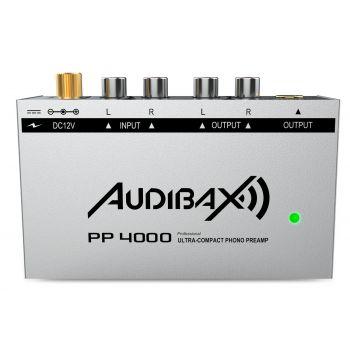 Audibax PP4000 Silver Preamplificador Previo Phono RIAA. Único en el mercado con Interruptor ON/OFF