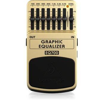 Behringer EQ 700 Pedal Guitarra Ecualizador